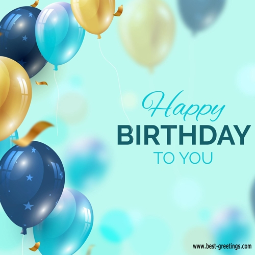 Editable Happy Birthday Wishes Cards for Facebook
