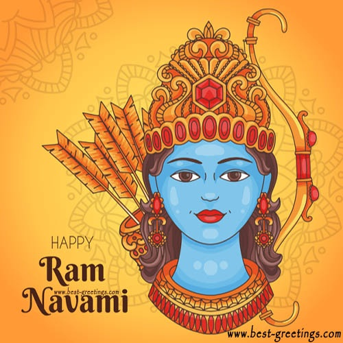 Build Your Own Rama Navami Wishes Cards Online