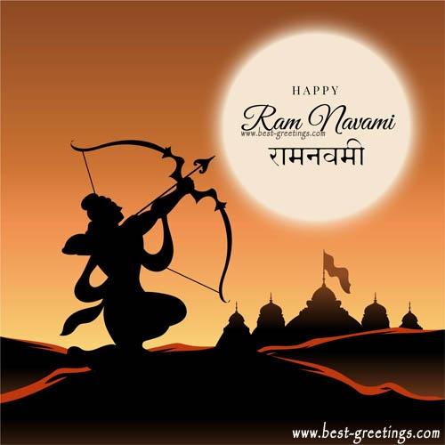 Free Make Rama Navami Whatsapp Images
