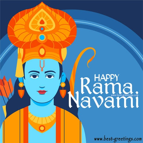 Create Ram Navami Greeting for Company