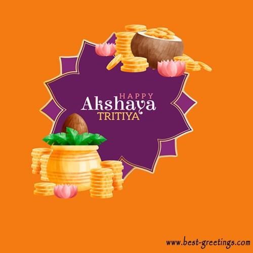 Akshaya Tritiya Wishes Images, SMS, Quote