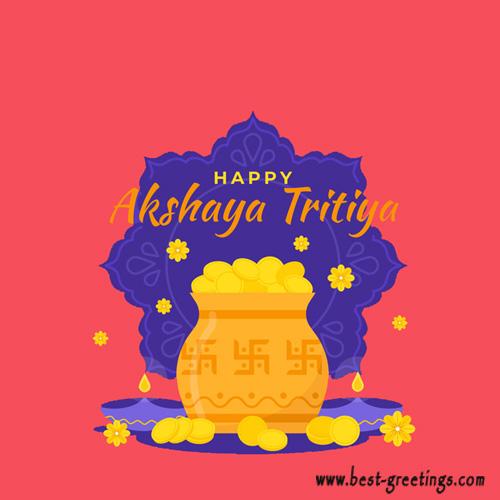 Free Make Akshaya Tritiya Whatsapp Images