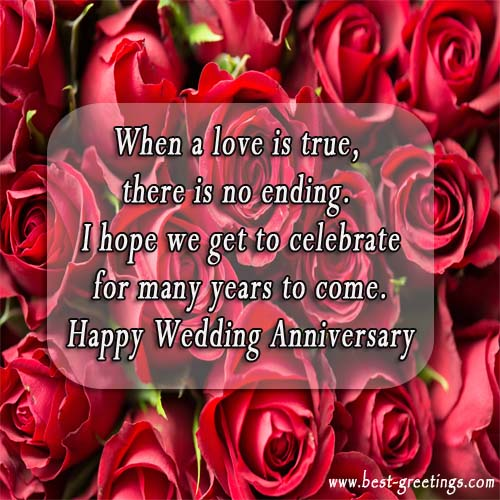 Write your name on Anniversary Card