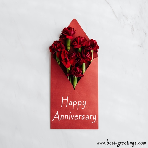 Build Your Own Anniversary Wishes Cards Online