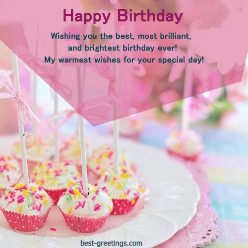 Happy Birthday Cupcake Wishes With Name