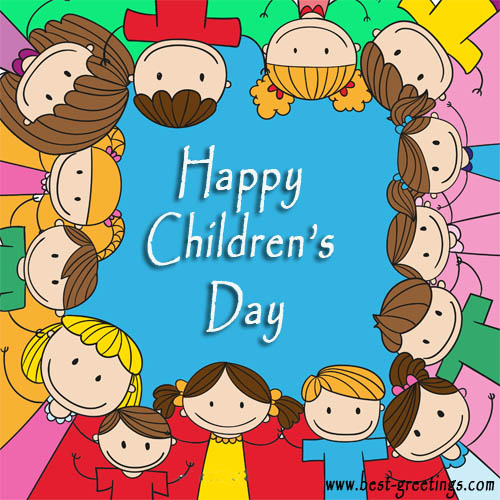 Add Name on Children's Day Wishes Image