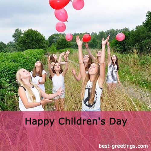 Making Children's Day Image for Whatsapp