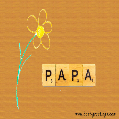 Greetings Card for Fathers Day