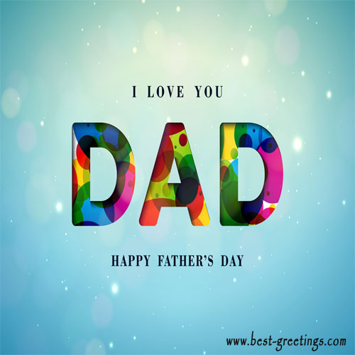 Wish Fathers Day With Name