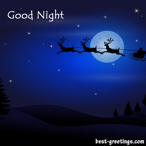 Good Night Sweet Dreams Greeting Card