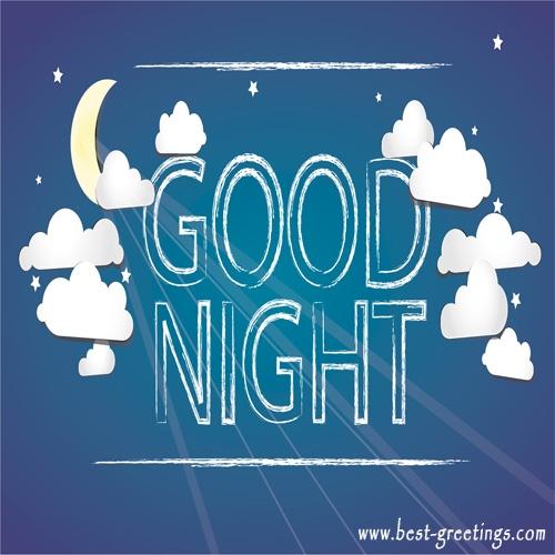Customized Good Night Wishes Image