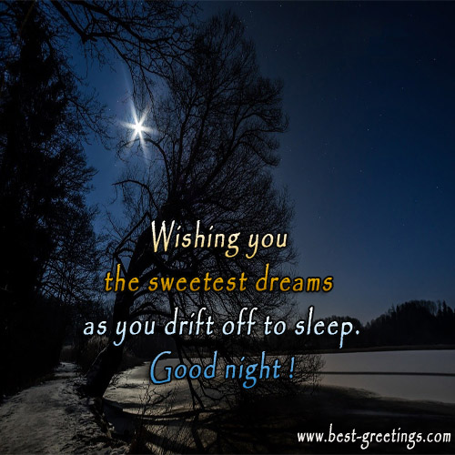 Create Good Night Image for Business