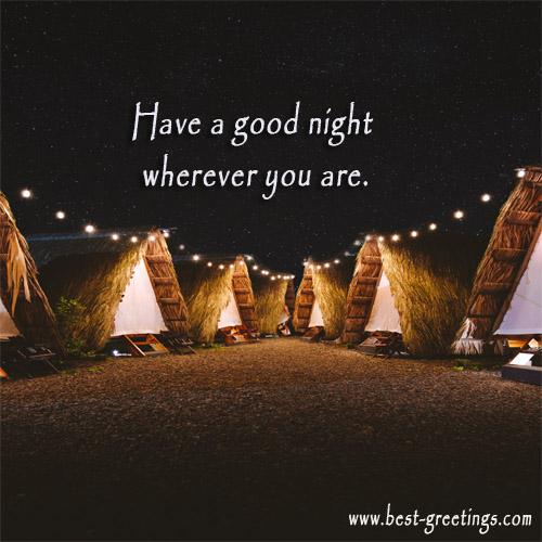 Free Make Good Night Image with Name