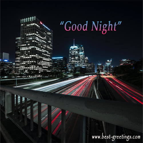 Build Your Own Good Night Wishes Cards Online