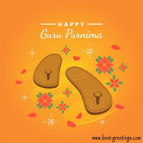 Editable Guru Purnima Wishes Cards for Facebook
