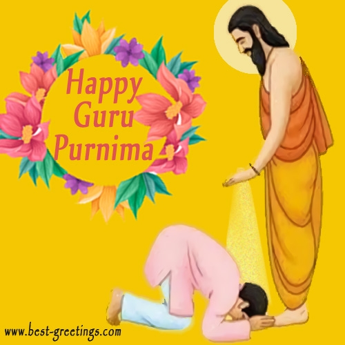 Write Name on Guru PurnimaWishes Images